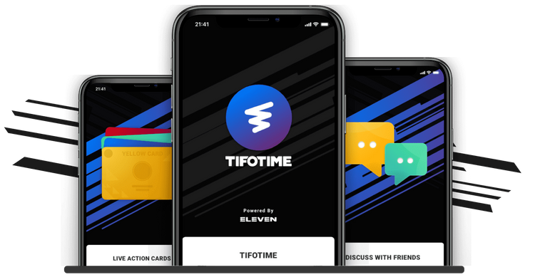 Download Tifotime and invite your friends!